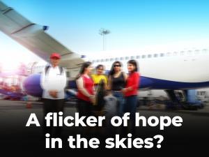 A flicker of hope in the skies?