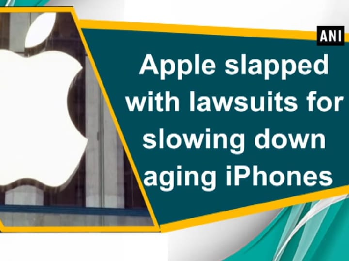 Apple slapped with lawsuits for slowing down aging iPhones