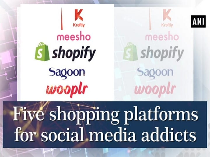 Five shopping platforms for social media addicts