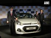 Global launch of new Xcent by Hyundai at Auto Expo in New Delhi