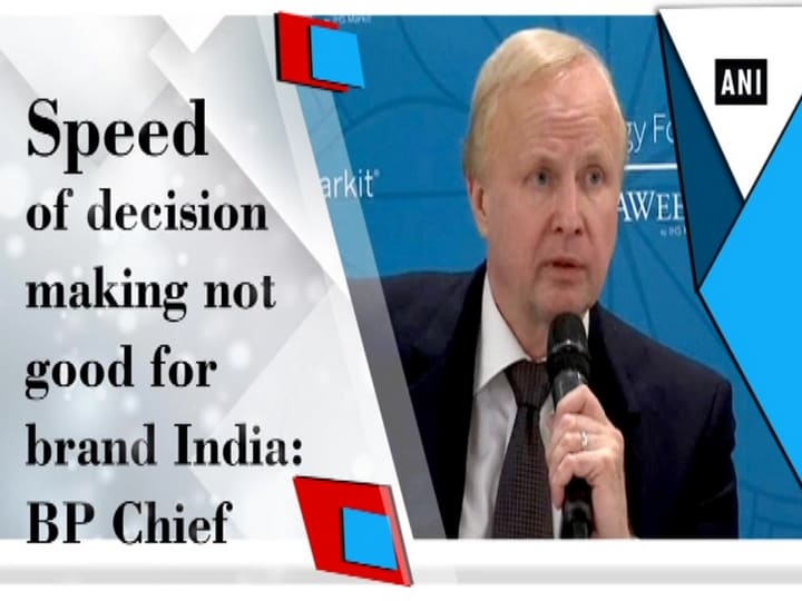 Speed of decision making not good for brand India: BP Chief
