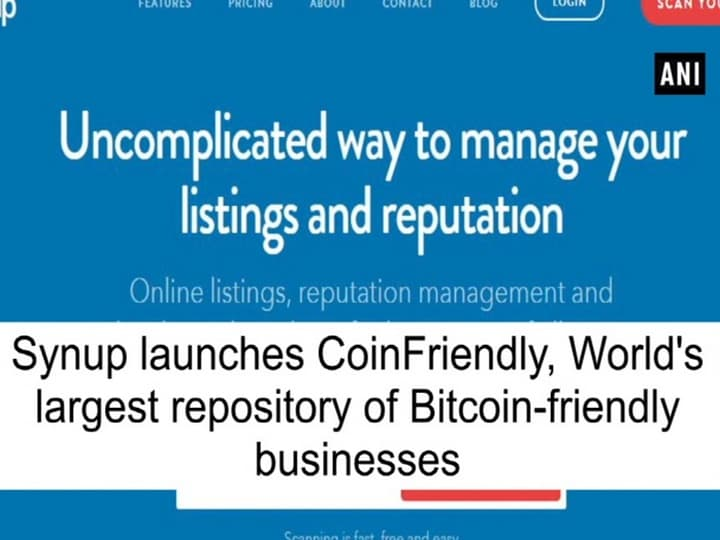 Synup launches CoinFriendly, World's largest repository of Bitcoin-friendly businesses