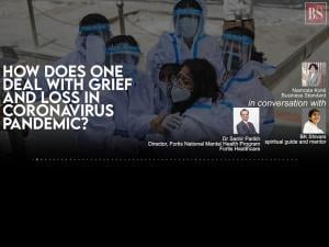 How does one deal with grief and loss in coronavirus pandemic?