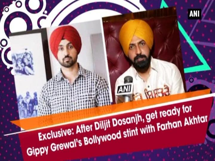 After Diljit Dosanjh, get ready for Gippy Grewal's Bollywood stint with Farhan Akhtar