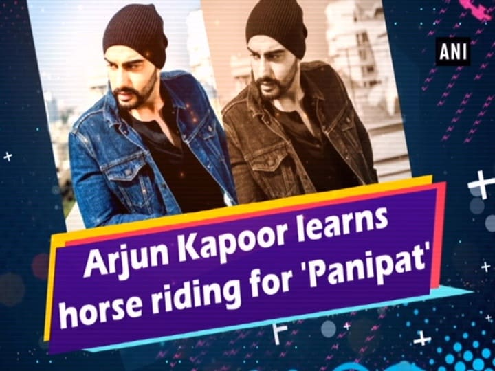 Arjun Kapoor learns horse riding for 'Panipat'