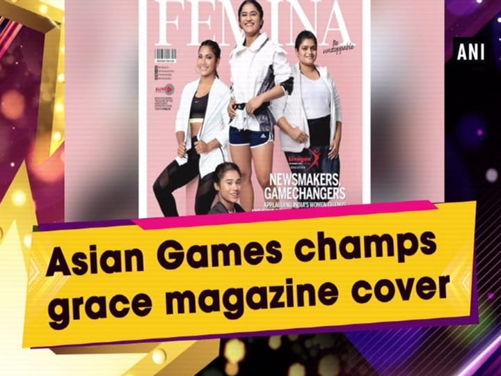 Asian Games champs grace magazine cover
