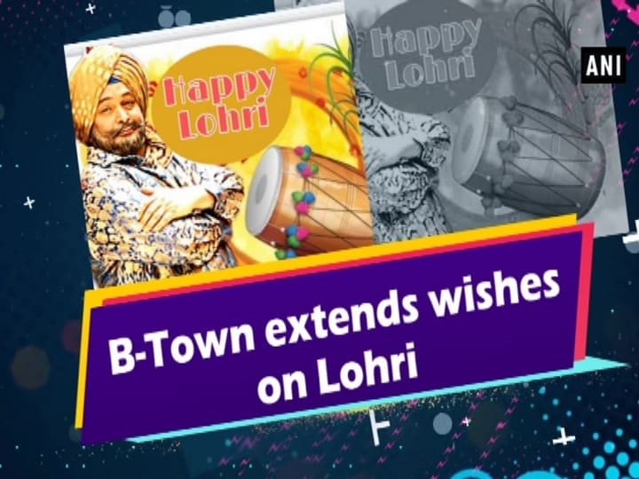 B-Town extends wishes on Lohri