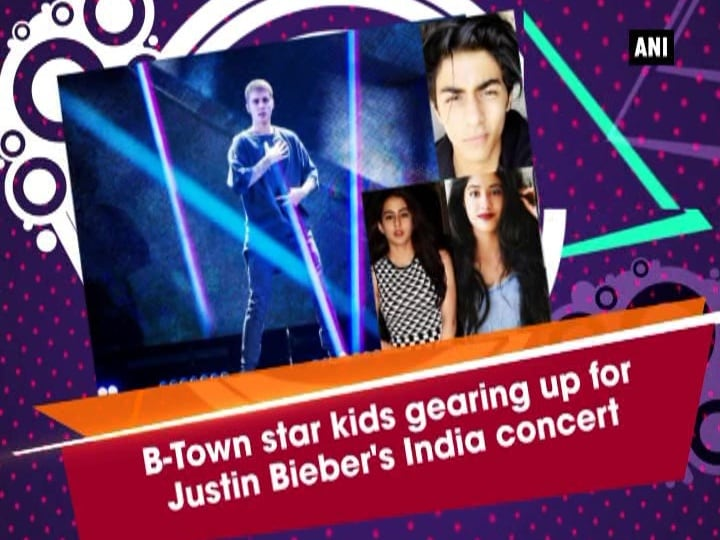 B-Town star kids gearing up for Justin Bieber's India concert