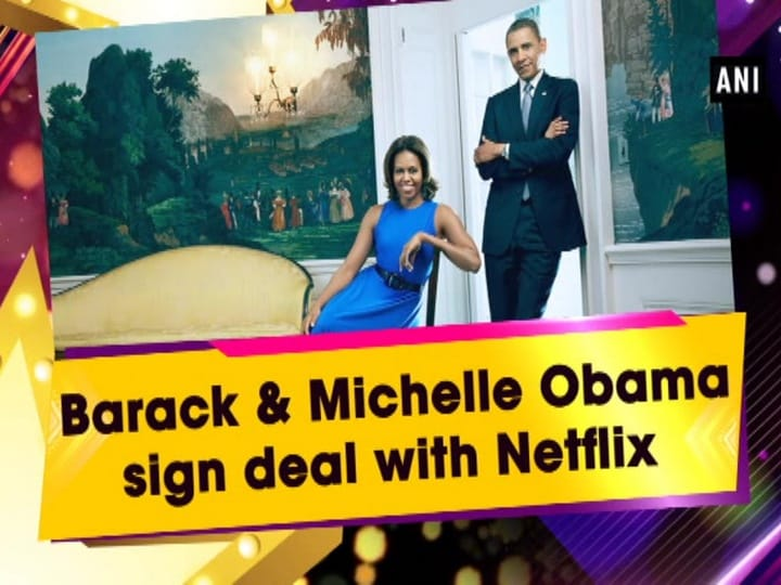 Barack and Michelle Obama sign deal with Netflix
