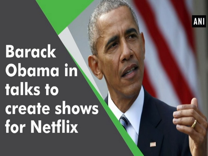 Barack Obama in talks to create shows for Netflix