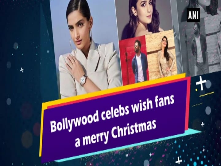 Bollywood celebs wish fans a merry Christmas