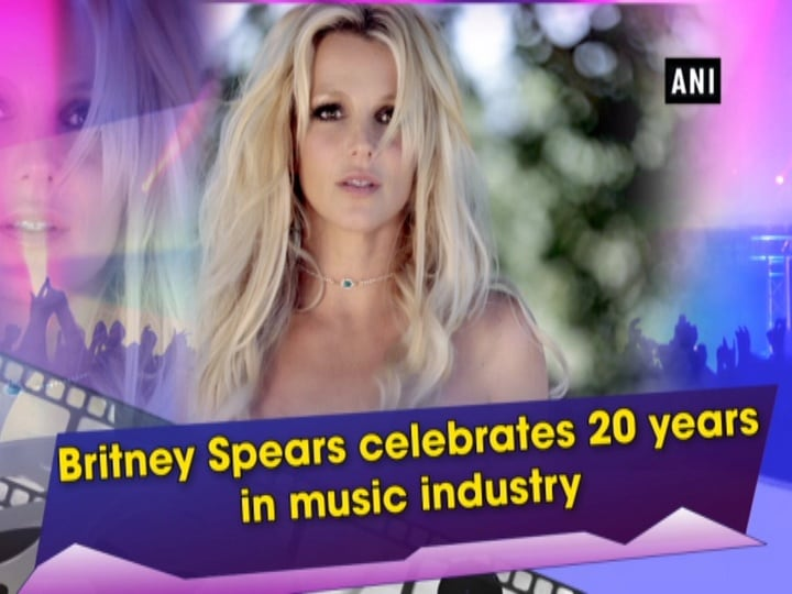 Britney Spears celebrates 20 years in music industry