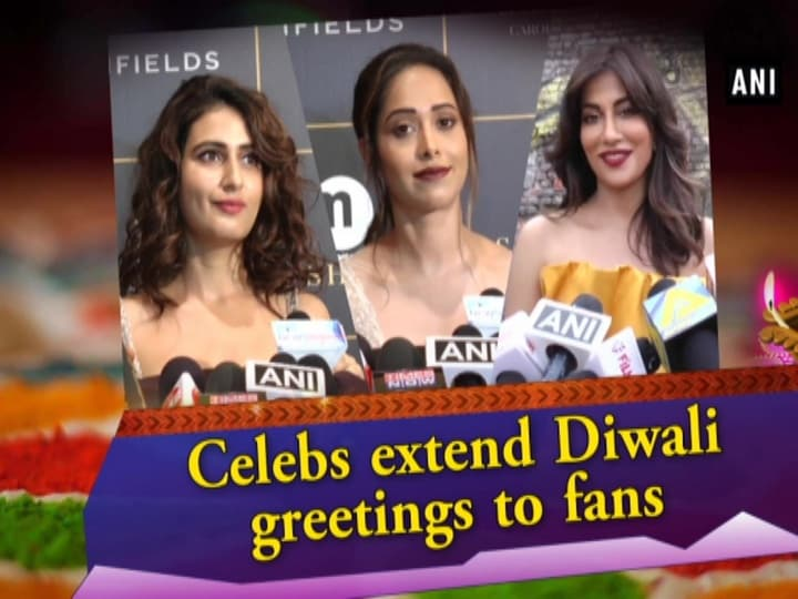 Celebs extend Diwali greetings to fans