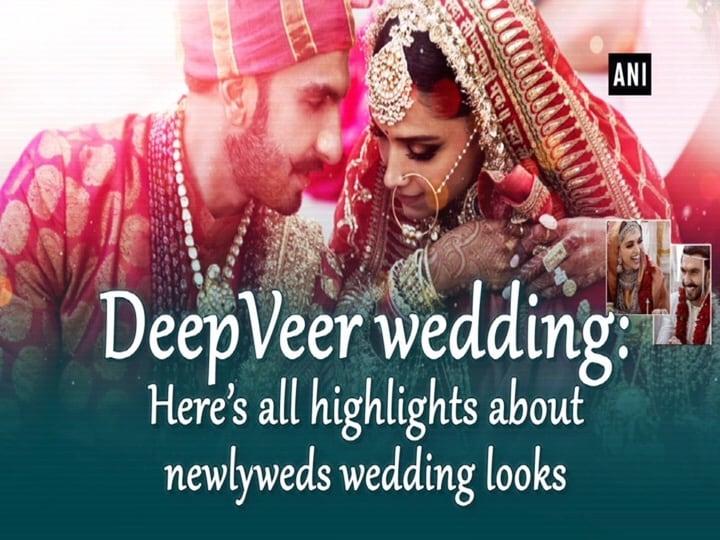DeepVeer wedding: Here's all highlights about newlyweds wedding looks