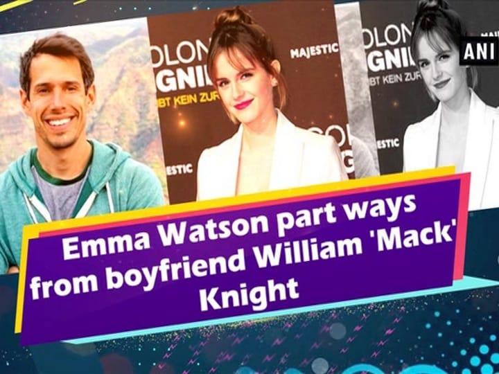 Emma Watson part ways from boyfriend William 'Mack' Knight