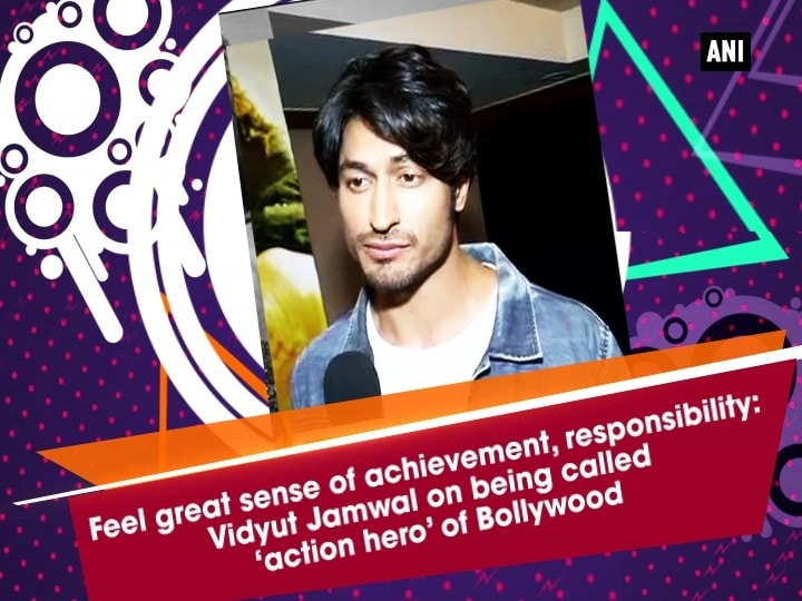 Feel great sense of achievement, responsibility: Vidyut Jamwal on being called 'action hero' of Bollywood