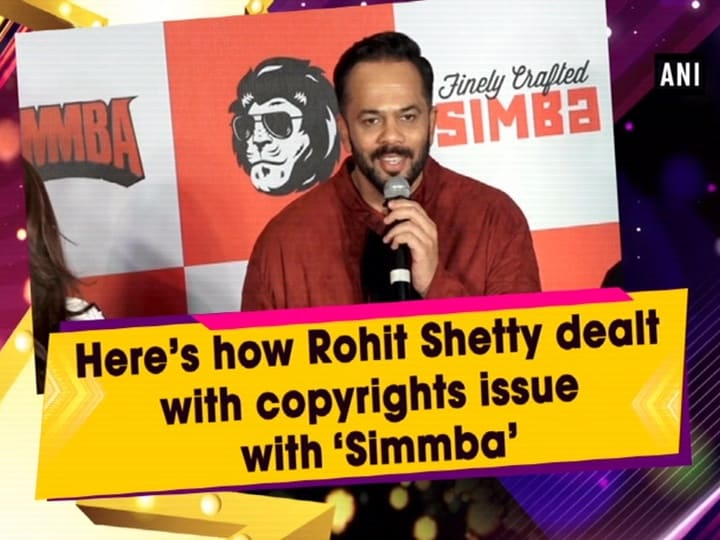 Here's how Rohit Shetty dealt with copyrights issue with 'Simmba'