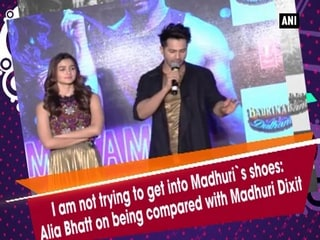 I am not trying to get into Madhuri's shoes: Alia Bhatt on being compared with Madhuri Dixit