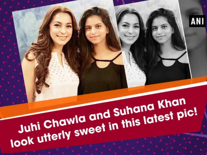 Juhi Chawla and Suhana Khan look utterly sweet in this latest pic!
