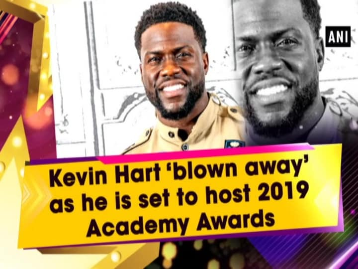 Kevin Hart 'blown away' as he is set to host 2019 Academy Awards