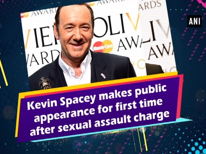Kevin Spacey makes public appearance for first time after sexual assault charge