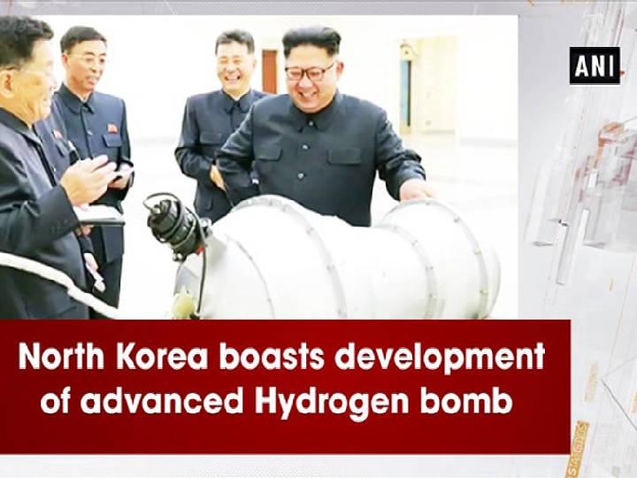 North Korea boasts development of advanced Hydrogen bomb