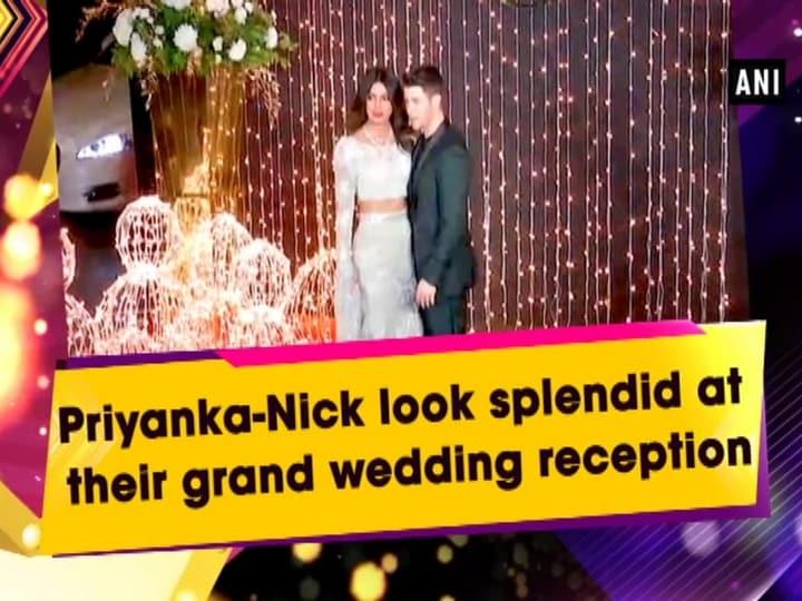Priyanka-Nick look splendid at their grand wedding reception