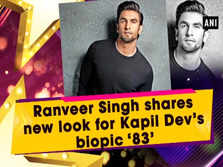 Ranveer Singh shares new look for Kapil Dev's biopic '83'