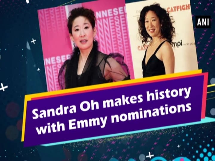 Sandra Oh makes history with Emmy nominations