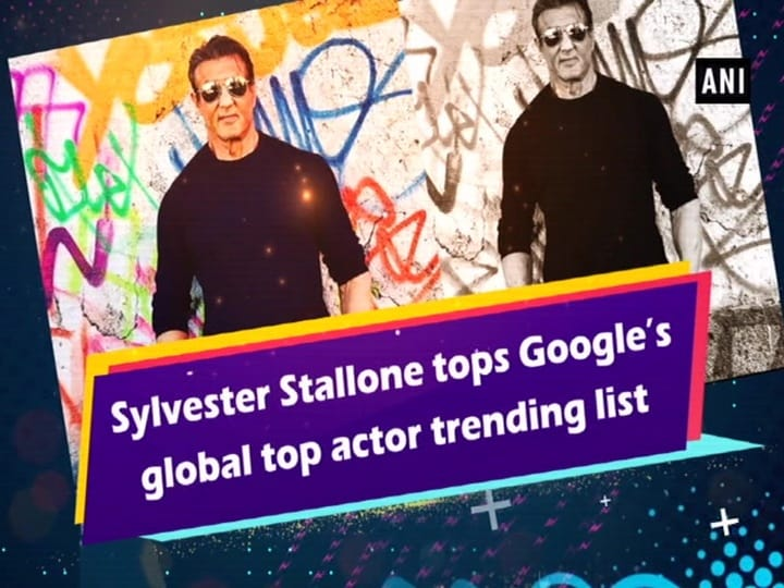 Sylvester Stallone tops Google's global top actor trending list