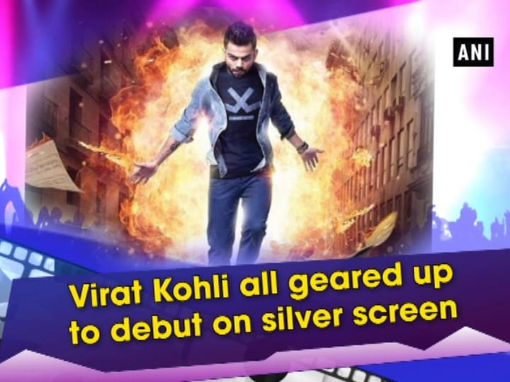 Virat Kohli all geared up to debut on silver screen