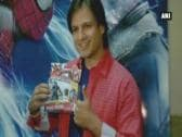 Vivek hosts 'The Amazing Spider-Man 2' screening for cancer patients