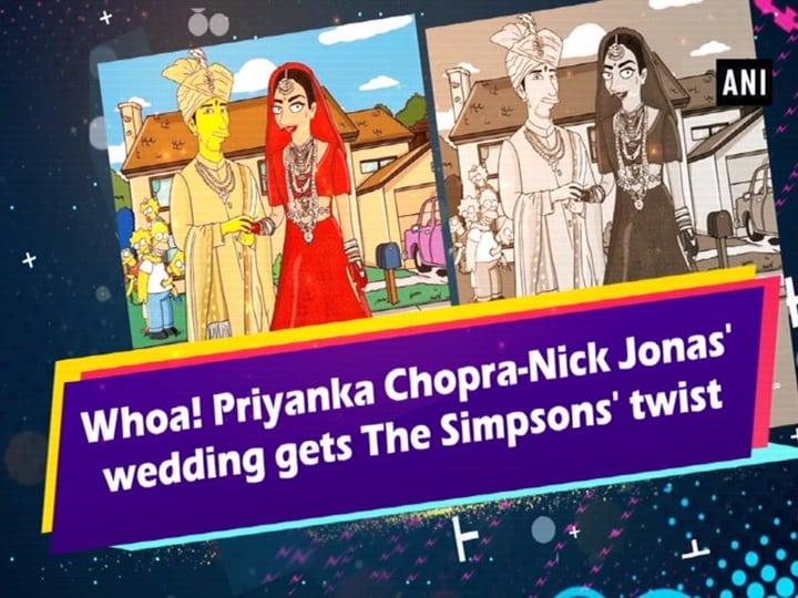 Whoa! Priyanka Chopra-Nick Jonas' wedding gets The Simpsons' twist