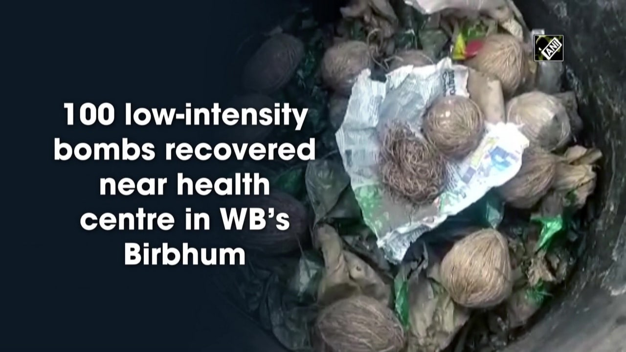 100 low-intensity bombs recovered near health centre in WB's Birbhum