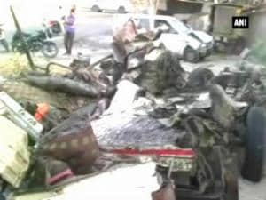 11 of family killed after truck rams into a jeep
