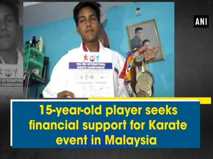 15-year-old player seeks financial support for Karate event in Malaysia