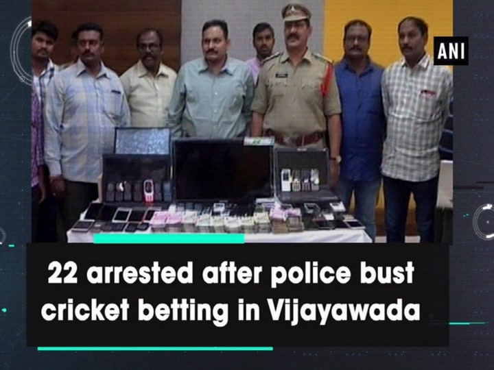 22 arrested after police bust cricket betting in Vijayawada