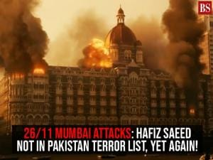 26/11 Mumbai attacks: Hafiz Saeed not in Pakistan terror list, yet again!