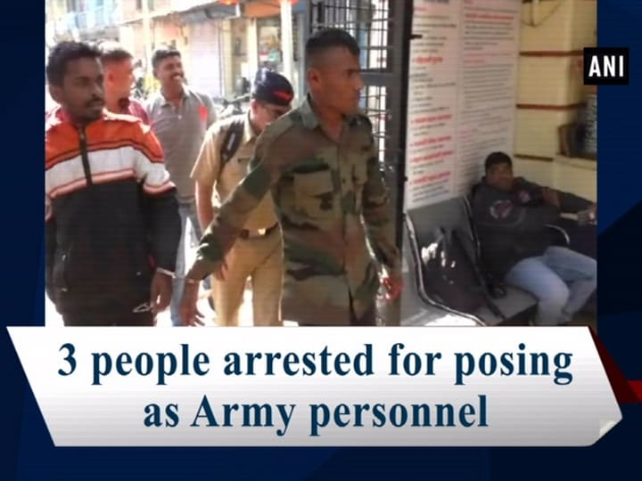 3 people arrested for posing as Army personnel