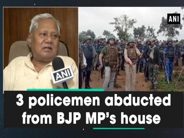3 policemen abducted from BJP MP's house
