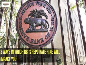 3 ways in which RBI's repo rate hike will impact you
