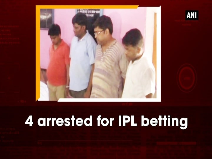 4 arrested for IPL betting