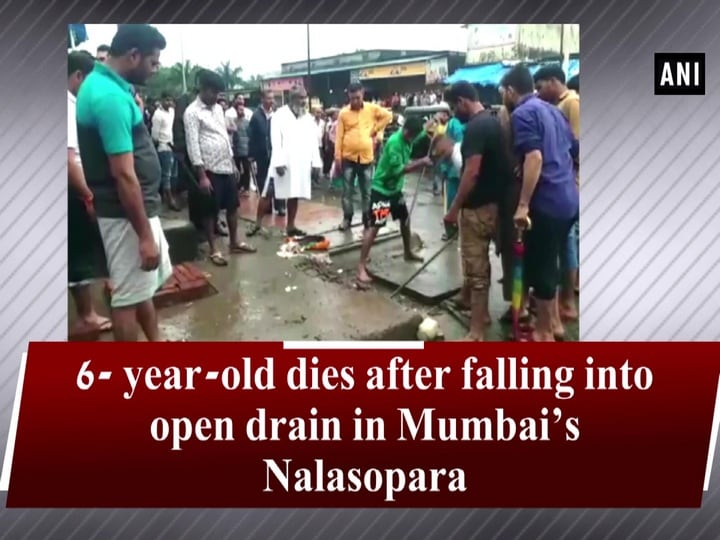 6- year-old dies after falling into open drain in Mumbai's Nalasopara