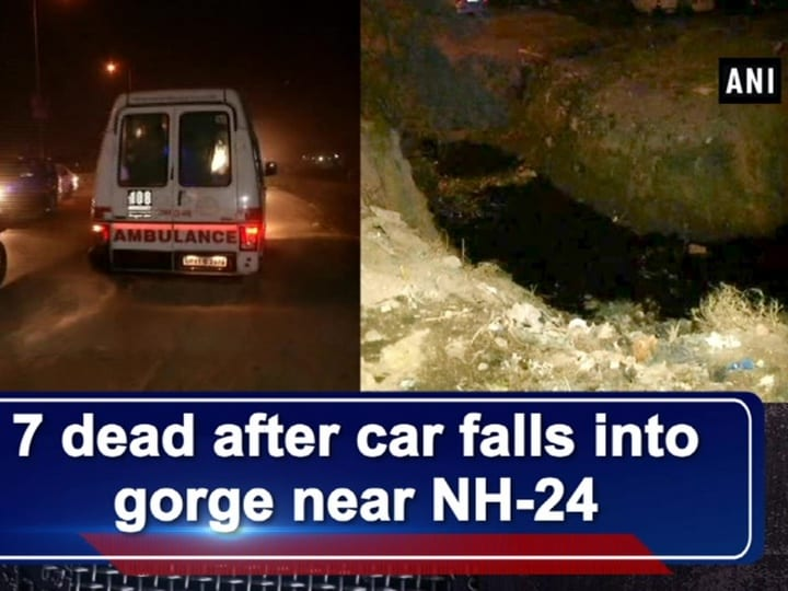 7 dead after car falls into gorge near NH 24