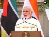 Africa and Indian Ocean are among highest priorities for our foreign policy: Narendra Modi