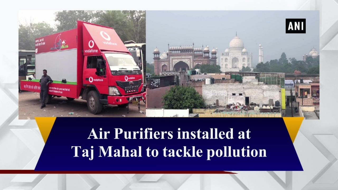 Air Purifiers installed at Taj Mahal to tackle pollution