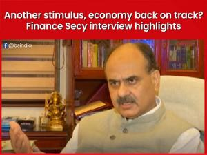 Another stimulus, economy back on track? Finance Secy interview highlights