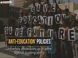 'Anti-education' system: University professors up in arms against funding policy