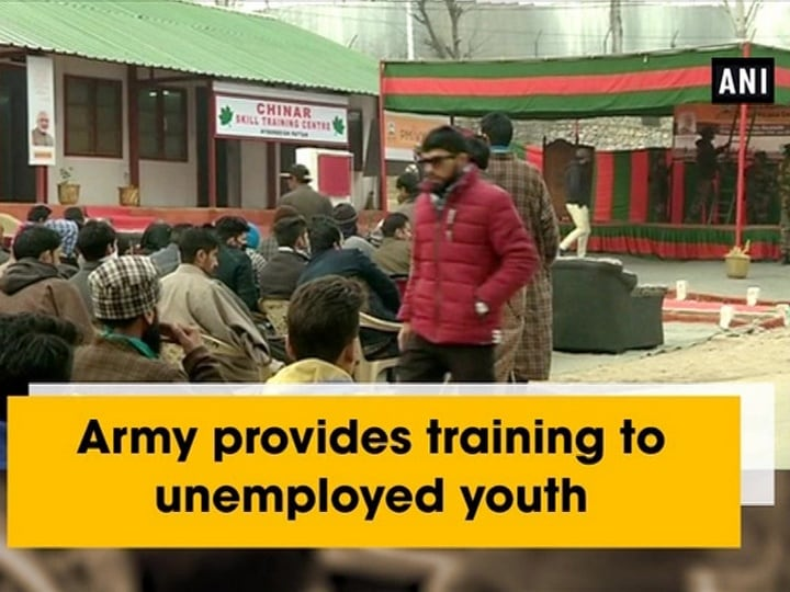 Army provides training to unemployed youth
