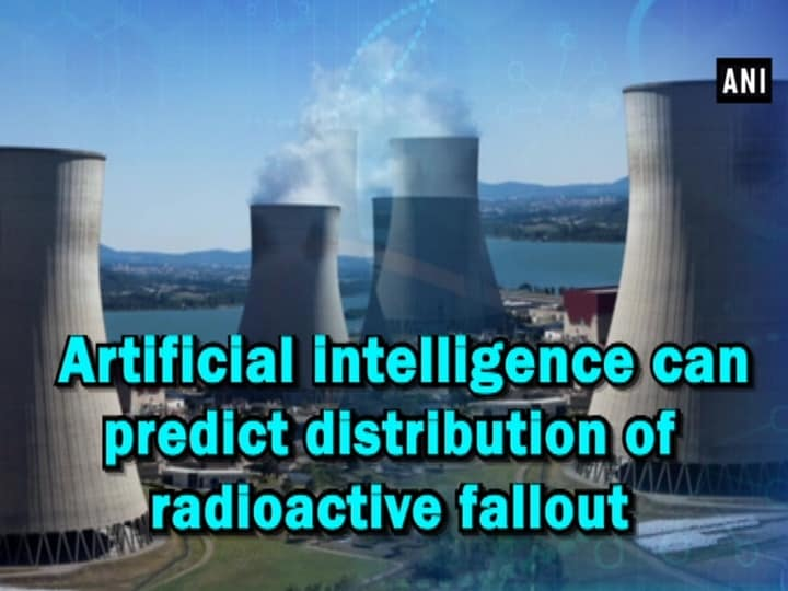 Artificial intelligence can predict distribution of radioactive fallout